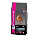 Lad din hund prøve Eukanuba (foto lavprisdyrehandel.dk)